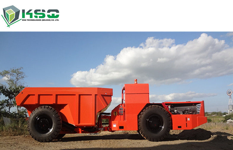 30 Ton Low Profile Dump Truck Underground Dump Truck For Mining / Tunneling