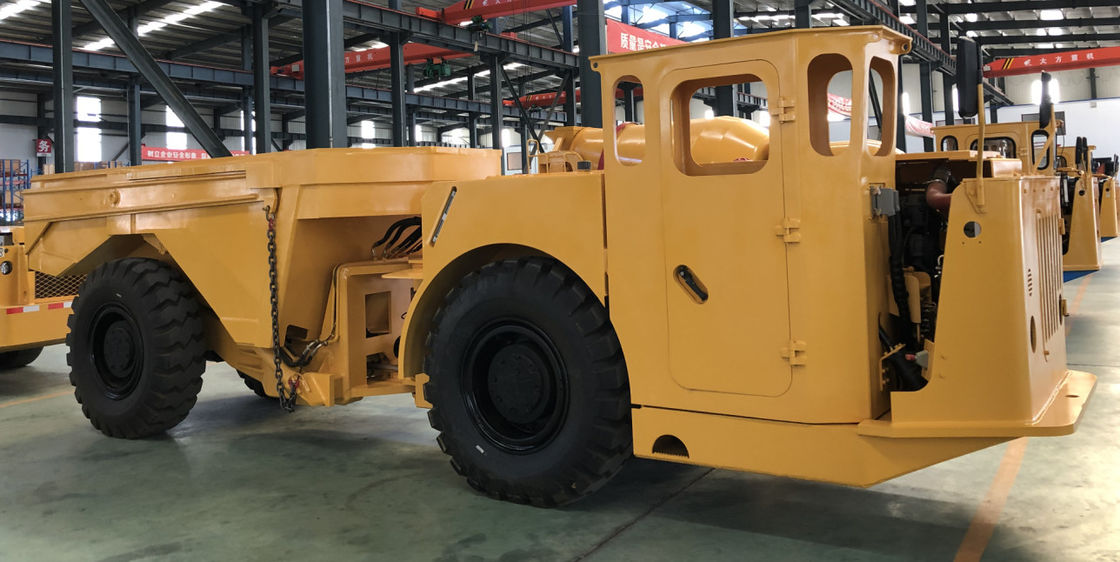 Underground Mining Low Profile Dump Truck 10CBM Volume Capacity 2280mm Maximum Width